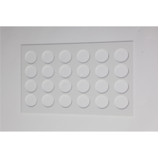 Bellytray - 24 gaats tray wit - Tray 24 holes (white) - Tray 24 löcher (weiss) - Tray 24 gaten (wit)