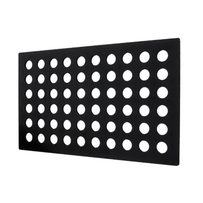 Bellytray - 60 gaats tray zwart - Bellytray startpakket (zwart) - Tray 60 holes (black) - Tray 60 löcher (schwartz)