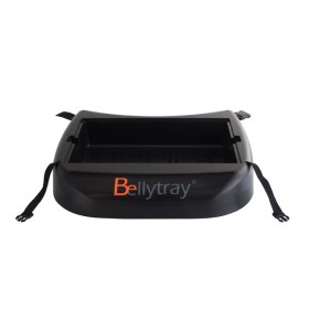 Bellytray - Bellytray startpakket (zwart) - Bellytray (black) - Bellytray Bauchladen (schwartz)